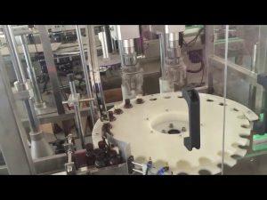 továrenská cena vysokorýchlostného automatického uzatváracieho stroja na rotačné uzávery na fľaše