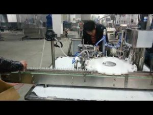 očné kvapky nosné kvapky malý stroj na plnenie tekutín
