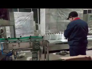 ručné mydlové gélové plniace linky na plnenie alkoholu