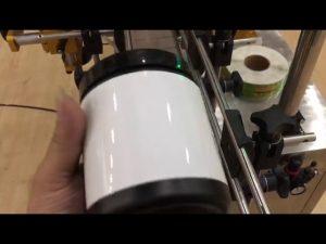 pet sklo jar hliníkový plechovka a fľaša nálepka stroj na označovanie