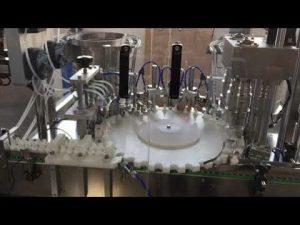 vysoko presné rotačné uzatváracie stroje pre potravinársky priemysel, omáčky a kozmetický priemysel