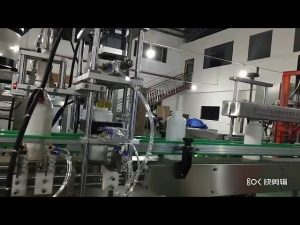 stroj na plnenie tekutých aminokyselín hnojivom