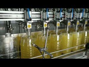 automatický plniaci stroj na plnenie piestových mazacích olejov