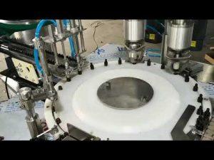 Plne automatický malý uzáver plniaceho stroja na éterický olej
