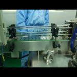 30 ml až 100 ml dvojitá dráha na plnenie a skrutkovanie stroj na okrúhlu fľašu