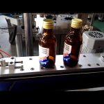 samolepiaca samolepka, automatická etiketa na okrúhle fľaše