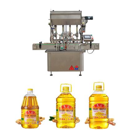 automatický rotačný stroj na plnenie oleja
