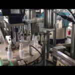 stroj na plnenie tekutín dezinfekčnými prostriedkami, stroj na plnenie dezinfekčných prostriedkov etanolom