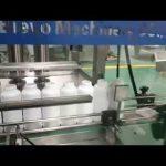 stroj na plnenie fliaš na pracie prostriedky, výrobná linka na pracie prostriedky