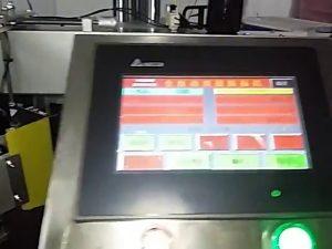 automatická počítačová tlač etikiet stroj nálepka role plastová taška štítok stroj