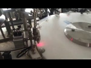 automatický 30-50 bpm mini lak na nechty stroj na plnenie fliaš