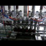 lineárny automatický 4 hlavy piestová fľaša viskózna kečupová omáčka tekuté balenie stroj na plnenie