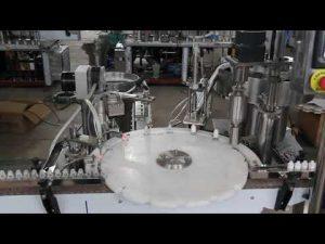automatický stroj na plnenie očných kvapiek, malý stroj na plnenie a uzatváranie fliaš