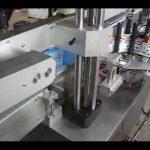 automatický obojstranný etiketovací stroj na etikety pre okrúhle fľaše