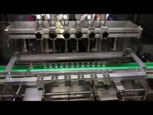 automatický alkoholový plniaci stroj na dezinfekciu alkoholu pre každodenný chemický priemysel
