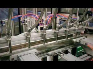 automatický lineárny čistiaci prostriedok s piestom, šampón, stroj na plnenie viskóznych kvapalín do mazacích olejov