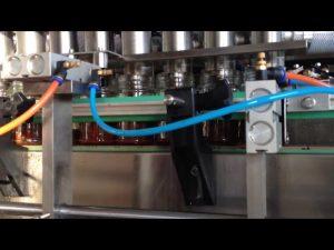 automatický stroj na plnenie paradajkovej omáčky z arašidového masla z čokolády