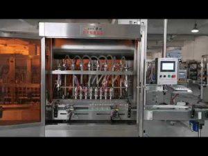 plnoautomatický plniaci stroj servo