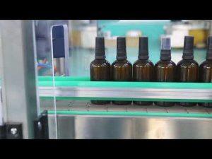 vysoko presný motor z nehrdzavejúcej ocele platforma CBD olej fľašu plniaceho stroja