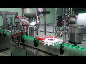 Stroj na plnenie a uzatváranie 4 háčikov