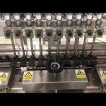 tekutý alkoholický krém lineárny plniaci stroj, medová nádoba malá fľaša olejová náplň
