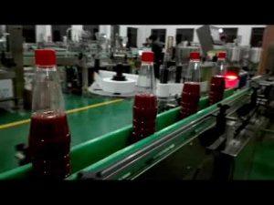 vysokorýchlostný plnoautomatický plniaci stroj na kečup, džem, omáčka