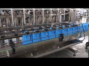 automatický ručný dezinfekčný prostriedok na plnenie tekutých mydiel stroj na plnenie piestov do fliaš