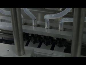 10ml-5l 6 hlavový automatický stacionárny stroj na plnenie tekutín