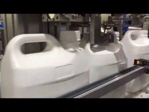 automatický 4-dýzový tekutý a krémový digitálny plniaci stroj