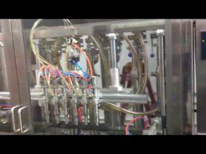 automat na plnenie sklenených fliaš olivový olej