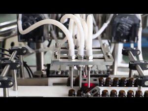 Stroj na plnenie a uzatváranie 120 ml olivového oleja