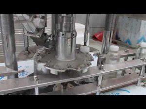 automatický jednoúčelový plastový rotačný uzáver