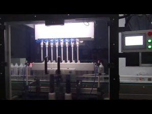 stroj na plnenie toaletných tekutín