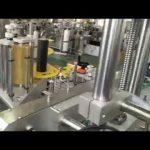 samolepiaci etiketovací stroj s automatickou plastovou a sklenenou fľašou