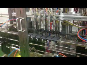 Plc plniaci automat s automatickým plnením olivového oleja