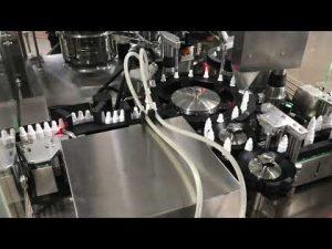 farmaceutický uzáver na plnenie kvapiek do malej injekčnej liekovky s objemom 20 ml