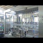 továreň automatický lineárny viskózny tekutý jedlý olej fľašu jar plniace stroj