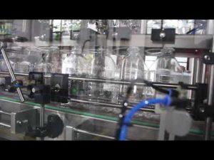 automatický stroj na plnenie tekutých gélov do rúk