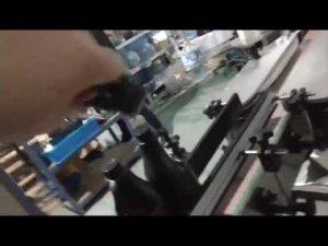 automatický inline rovný sklo fľaša hliníková čiapka uzáver lana